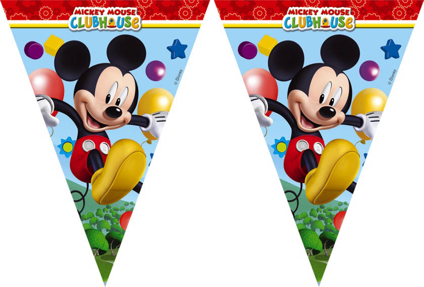 Vlaggenlijn Mickey Mouse 3M