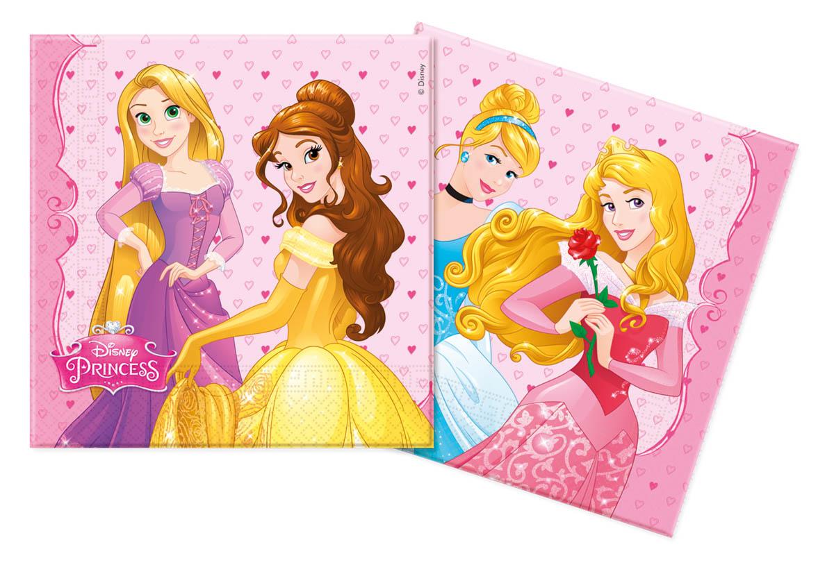Servetten Disney Prinsessen