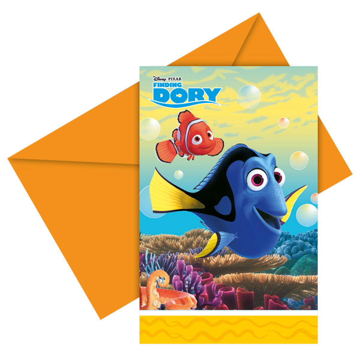 Uitnodiging Finding Dory